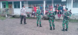 Berikan Rasa Aman dan Nyaman, Satgas Yonif 734 Gelar Patroli Selama Bulan Ramadhan