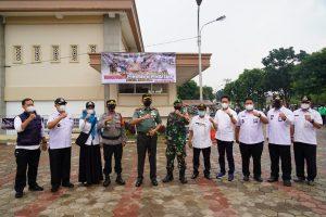 Danrem 061/SK Pimpin Launching Satgasus Waspada Pemudik dan Pendatang