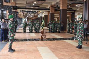 Kasad Pimpin Laporan Korps Kenaikan Pangkat Pati TNI AD dan Sertijab Dirajenad