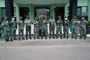 Danrem 061/SK Dampingi Waasops dan Waaspers Kasad Berikan Arahan dan Cek Kesiapan Yonif 315/Garuda