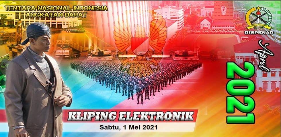 Kliping Elektronik Sabtu, 1 Mei 2021