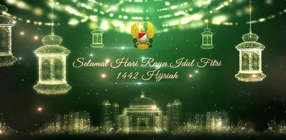 TNI Angkatan Darat Mengucapkan Selamat Hari Raya Idul Fitri 1442 Hijriah