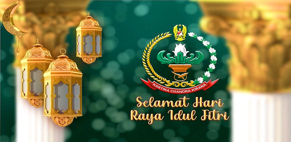 Ketua Umum Persit KCK Ibu Hetty Andika Perkasa Mengucapkan Selamat Hari Raya Idul Fitri 1442 H