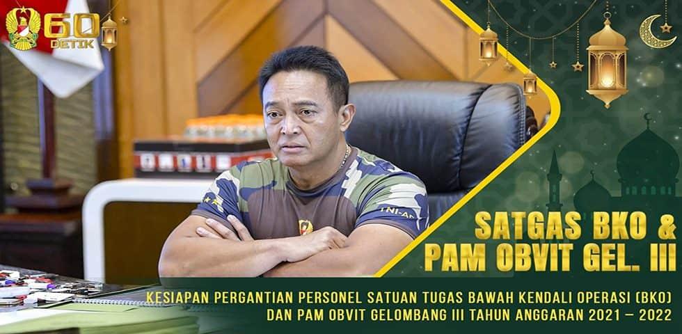 Kesiapan Pergantian Personel Satgas Bawah Kendali Operasi (BKO) dan Pam Obvit Gelombang III