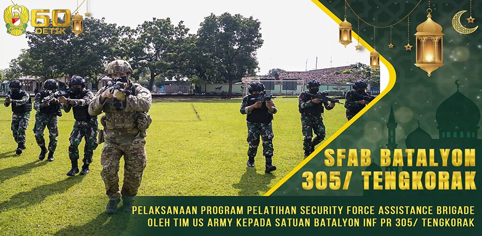 Pelaksanaan Program Pelatihan SFAB oleh Tim US Army kepada Satuan Yonif Para Raider 305/ Tengkorak