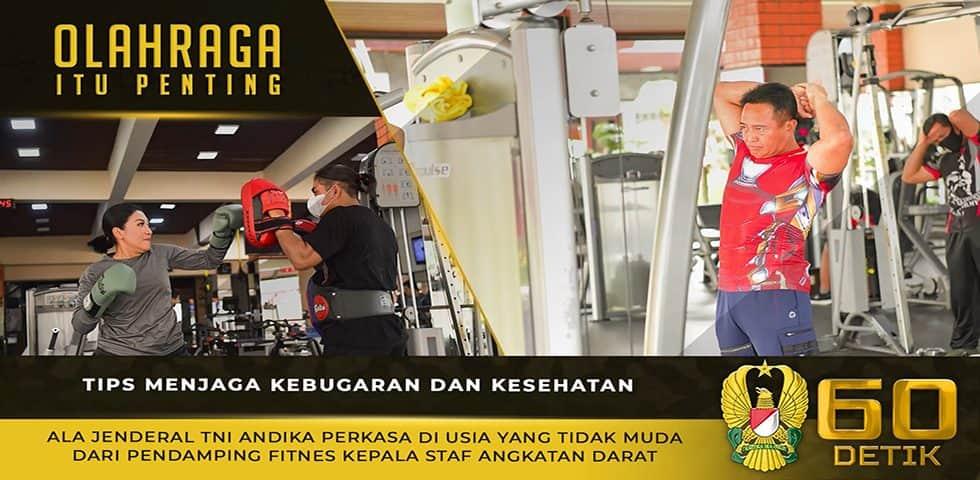 Tips Menjaga Kebugaran dan Kesehatan Ala Jenderal TNI Andika Perkasa dari Pendamping Fitnes Kasad