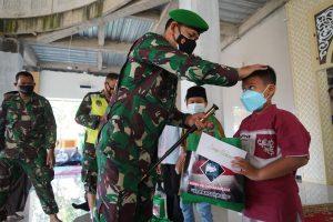 Berkah Ramadhan, Danrem 061/SK Silaturahmi Dengan Yatim dan Kaum Duafa