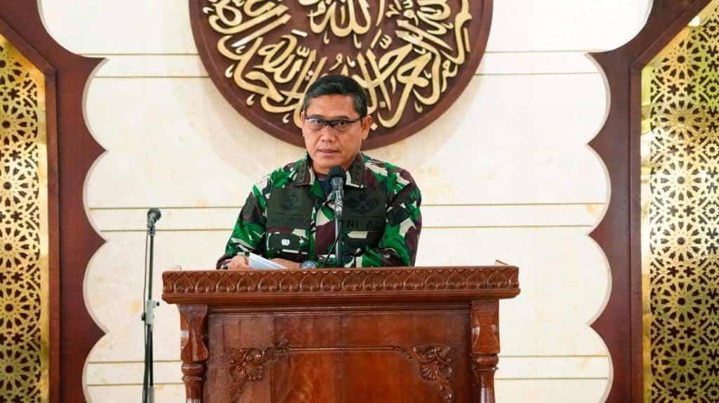 Kodiklat TNI AD Gelar Peringatan Nuzulul Qur'an 1442 H