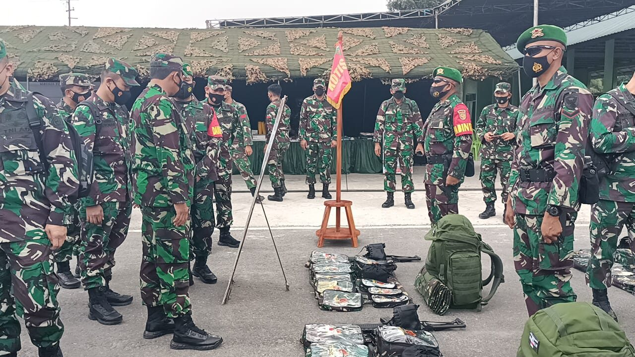 Pastikan Kesiapan Operasi, Tim Mabes TNI Datangi Yonif 144