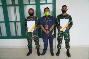 Sahabat Perjuangan, Asabri Santunkan Biaya Duka di Korem 143/HO