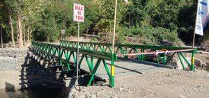 Dandim 1622/Alor Resmikan Jembatan Siboil Waisika, Warga Sambut Suka Cita