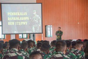 Danrem 172: Keberadaan TNI Menjadi Solusi Ciptakan Aman dan Damai di Tanah Papua
