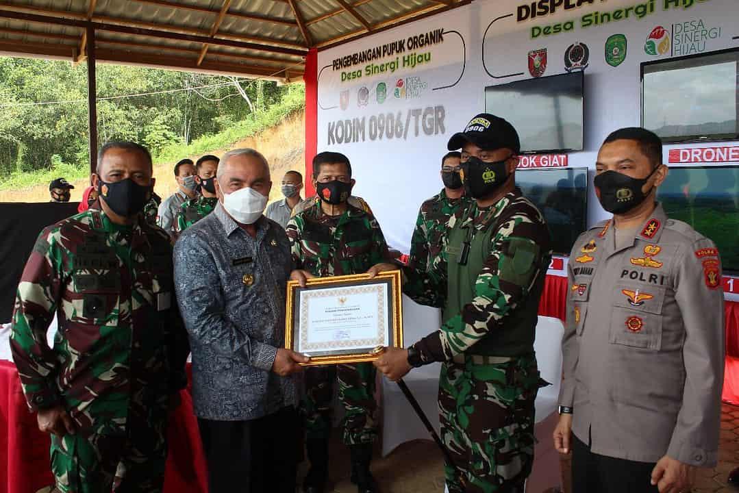Gubernur Kaltim Nobatkan Kodim Tenggarong Sebagai Kodim Kreatif dan Inovatif