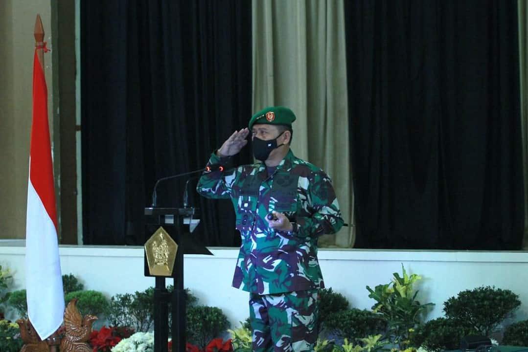 Diklapa I Kecabangan TNI AD TA 2021 Ditutup