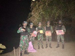 Pos Silawan Satgas Yonif 742 Gagalkan Penyelundupan Ke Timor Leste