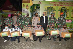 Pangdam I/BB Bersama Kapoldasu Gelar Apel dan Pantau Pengamanan Malam Takbiran Perayaan Idul Fitri 1442 H