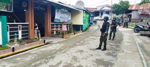 Satgas Yonarmed 6/3 Bantu Pengamanan Shalat Idul Fitri di Perbatasan