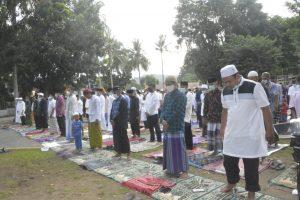 Shalat Idul Fitri 1442 H, Korem 172/PWY Terapkan Prokes