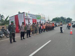 Danrem 061/SK Perintahkan Jajarannya Bersinergi Dalam Penegakkan Prokes