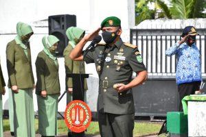 Kenang Jasa Pahlawan, Korem 174 Merauke Ziarah Dalam Rangka HUT ke- 58 Kodam XVII/Cenderawasih