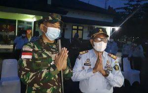 Danrem 174 Merauke Terima Kunjungan Kerja Kakanwil Kemenkumham Papua