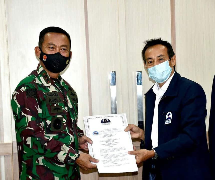 Pangdam II/Swj Silaturahmi Dengan Perwakilan DPP Walubi Sumsel