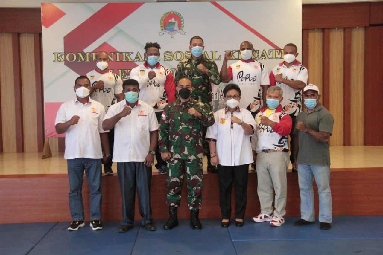 Korem 172/PWY, Gelar Komsos Kreatif Untuk Sukseskan PON XX di Papua