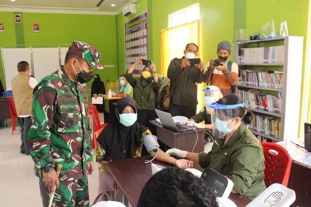 Tekan Laju Penyebaran Covid-19, Pangdam I/BB Adakan Pengecekan PPKM di Provinsi Kepri