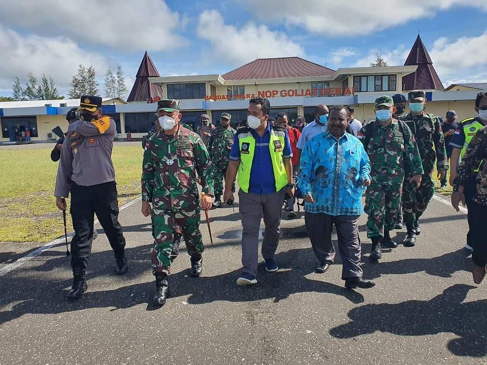 Danrem 172/PWY Kedepankan Komsos Jaga Stabilitas Keamanan di Yahukimo