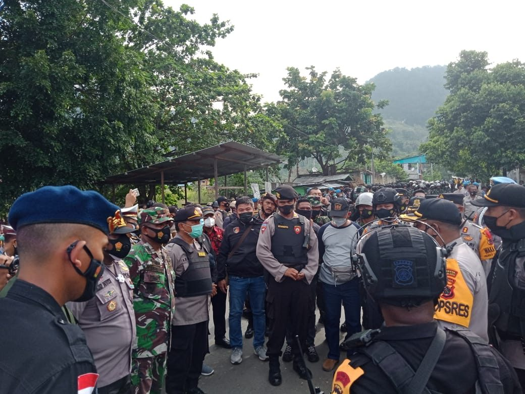 Korem 172/PWY Back Up Kepolisian Tertibkan Asrama Mahasiswa Uncen