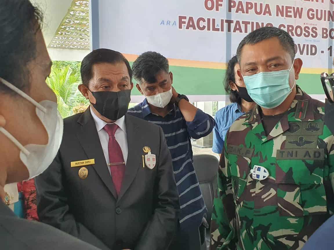 Korem 172/PWY Siap Amankan Pembukaan PLBN RI-PNG