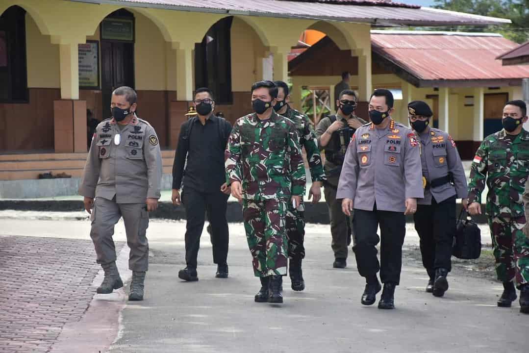 Pangdam XIII/Merdeka Dampingi Kunker Panglima TNI dan Kapolri di Sulteng