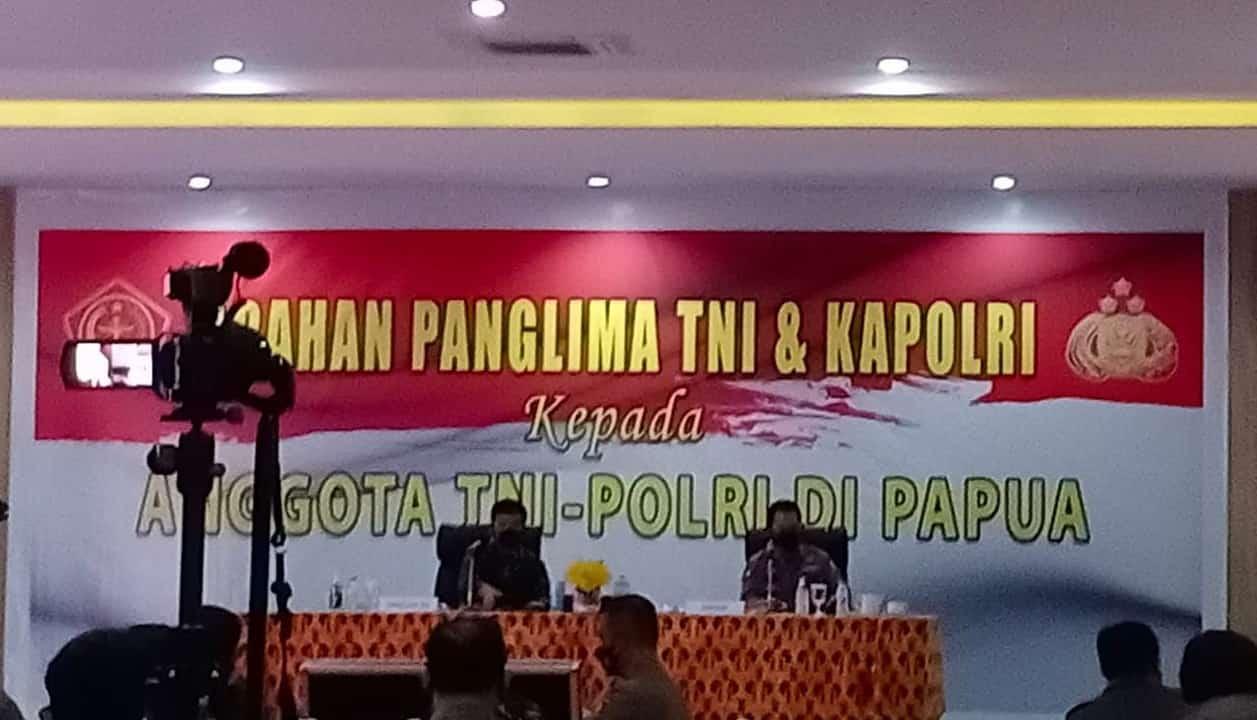 Pangdam Cenderawasih Dampingi Panglima TNI dan Kapolri Kunker di Provinsi Papua