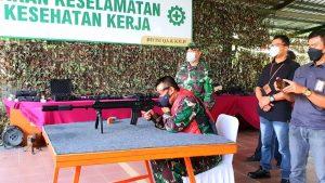 Tingkatkan Kerja Sama dan Sinergitas Kadislitbangad Kunjungi PT. Pindad