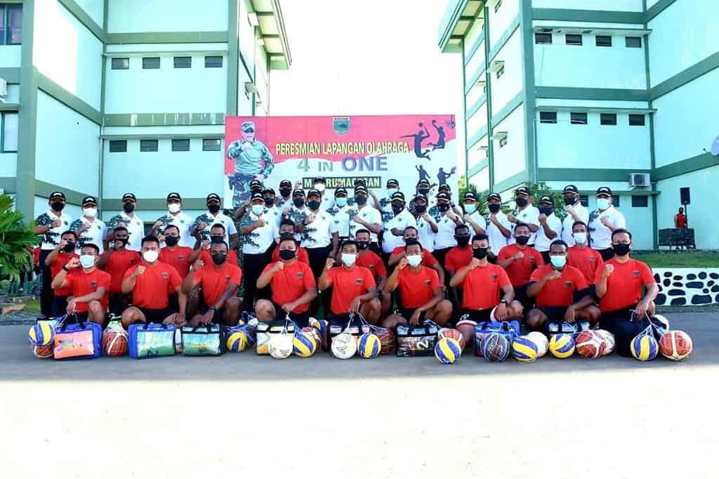 Lapangan Olah Raga 4 In One Kodam XVIII/Kasuari Abadikan Nama Pahlawan Nasional Papua Barat