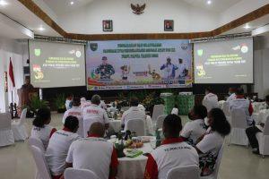Pangdam XVII/Cenderawasih Motivasi Atlet PON XX Papua