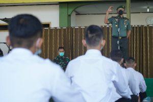 Ini Arahan Danrem 061/SK Kepada Calon Taruna Akmil Tahun 2021