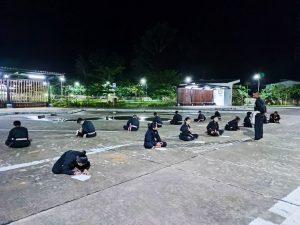 Lestarikan Seni Bela Diri Pencak Silat, Satgas Pamtas Yonif Mekanis 643/Wns Beri Pelatihan Masyarakat Perbatasan
