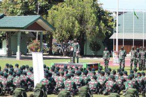 Pangdam XVII/Cenderawasih Pimpin Pemeriksaan Kesiapan Tugas Operasi Yonif 751/VJS