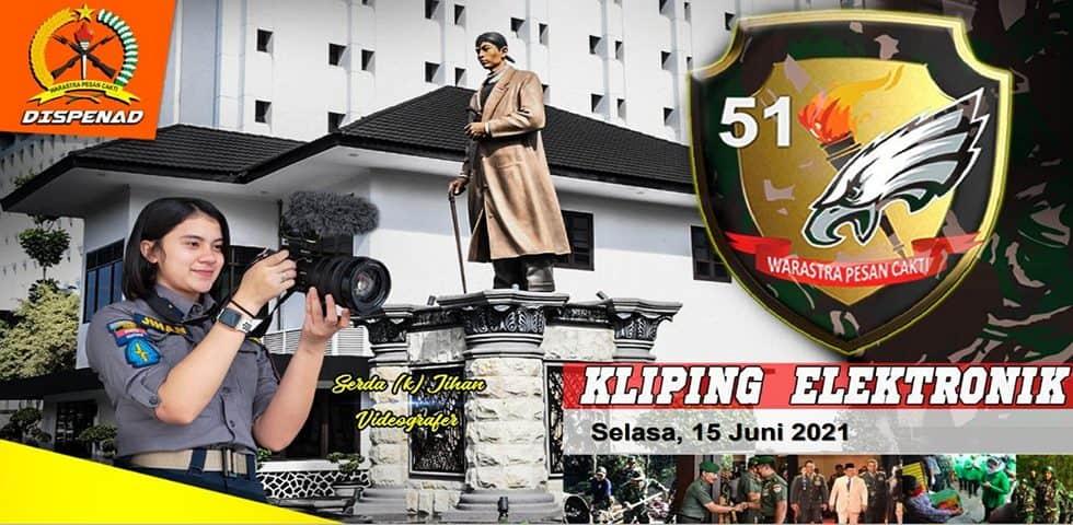 Kliping Elektronik Selasa, 15 Juni 2021
