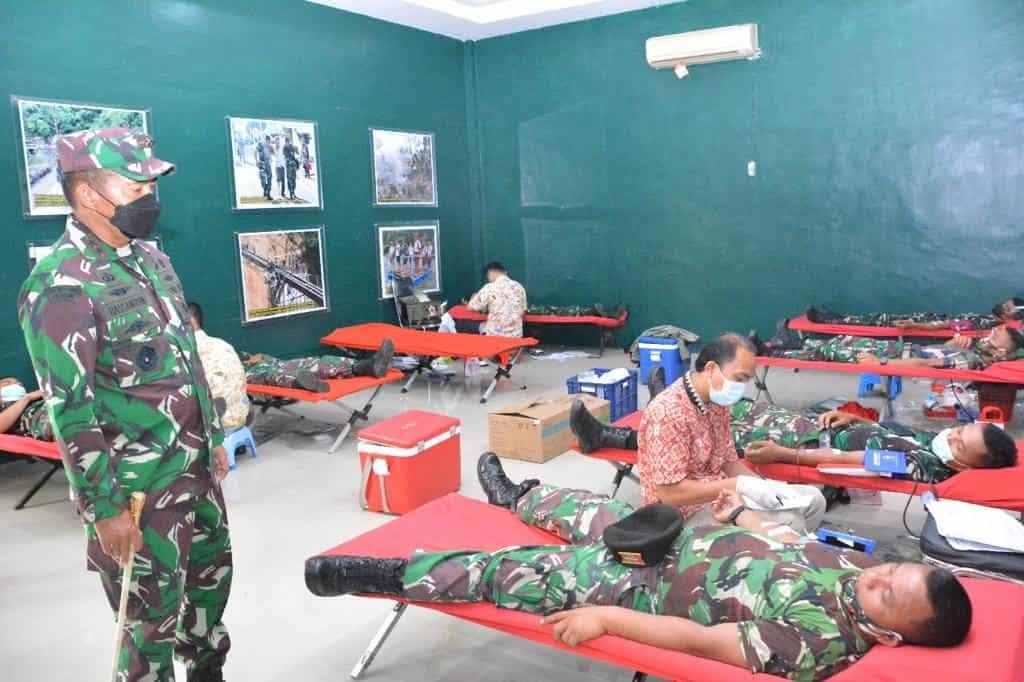 Pangdam I/BB : Donor Darah Kegiatan Yang Mulia di Tengah Wabah Covid – 19