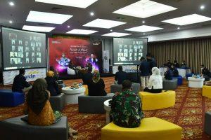 Pangdam II/Swj Nara Sumber Talk Show Hari Lahir Pancasila