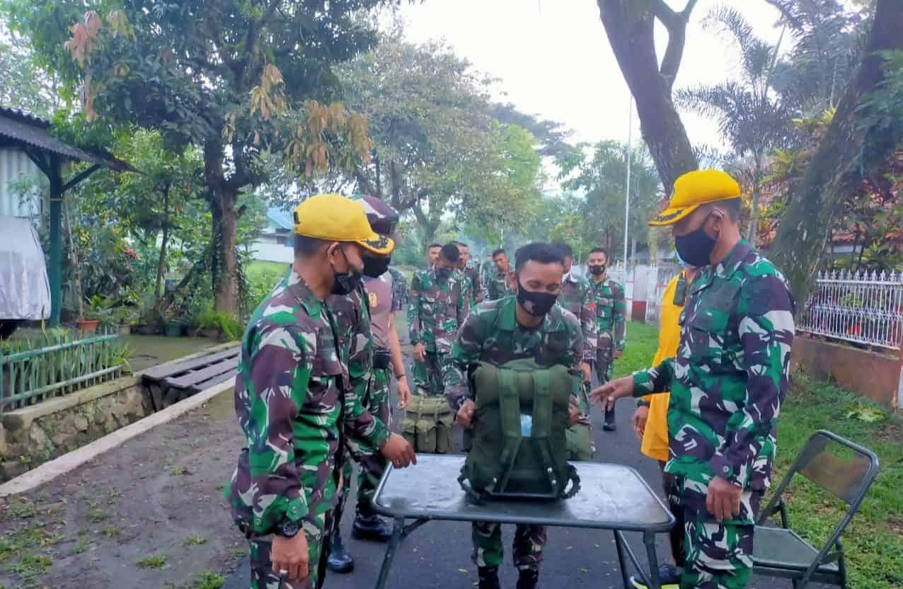 Kadisjasad Tinjau USJM Tingkat Regu Yonif 721/Makassar