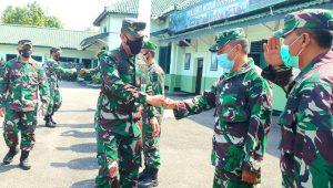 Kunjungi Kodim 0709/Kebumen, Kadislitbangad Dukung Penyelesaian Urut Sewu