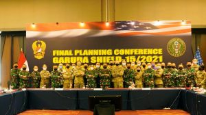 Dankodiklatad Tinjau Final Planning Conference TNI AD – US Army Dalam Rangka Penyiapan Latma Garuda Shield – 15/2021
