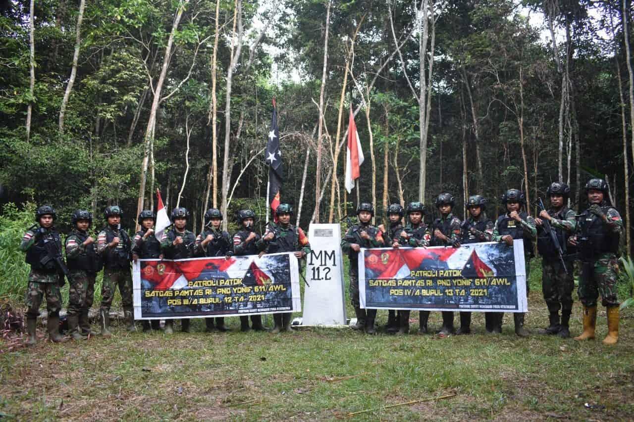 Patroli Patok, Tanggung Jawab Satgas Pamtas Terhadap Batas Kedaulatan Negara