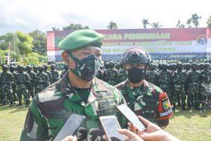 Satgas Pamrahwan Korem 172/PWY Diisi 500 Prajurit TNI Organik