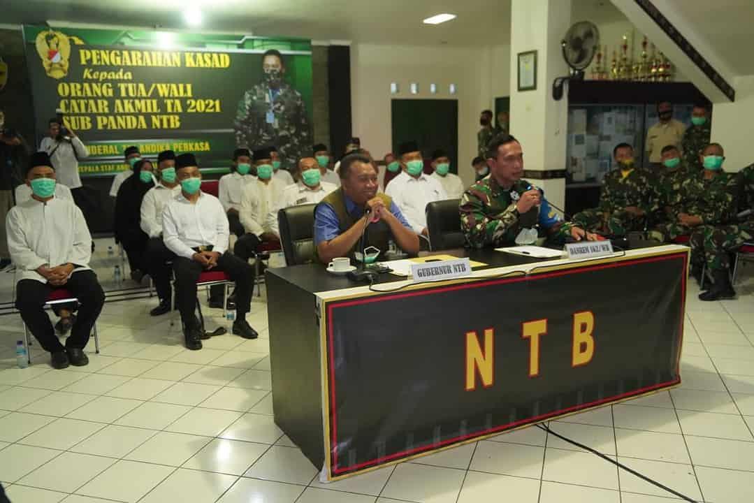 Danrem 162/WB : Tidak Ada Pemungutan Biaya Dalam Seleksi Penerimaan Prajurit TNI AD