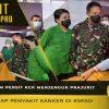 Kasad dan Ketum Persit KCK Menjenguk Prajurit yang Mengidap Penyakit Kanker di RSPAD