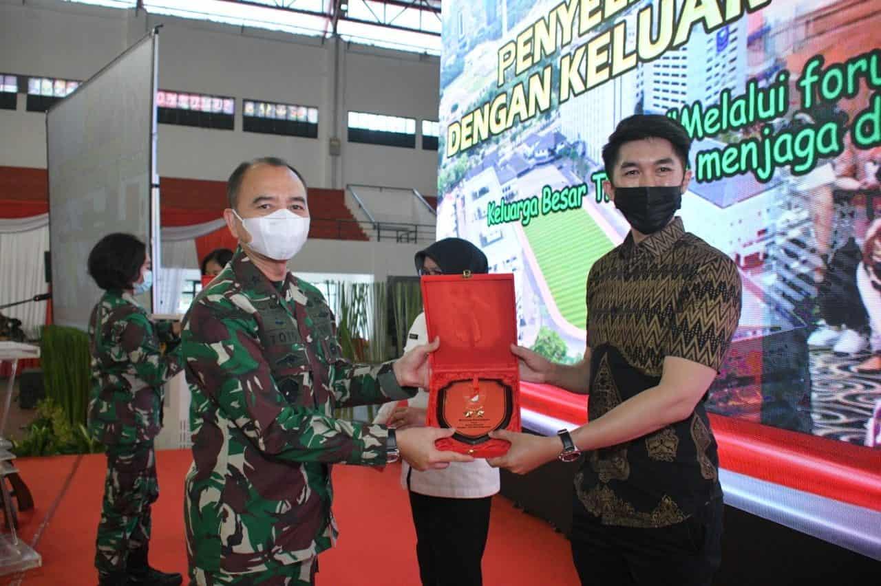 Gelar Komsos Dengan KBT, Sterad Fokuskan Bela Negara dan UMKM di Tengah Pandemi Covid -19